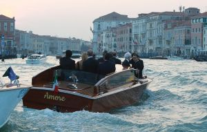 George Clooney arriving for his wedding - Venice September 2014 images.jpg