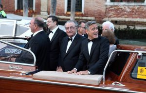 George Clooney arriving for his wedding - Venice September 2014 photos.jpg