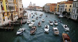 Guests caught river taxis to the venue along the Grand Canal in Venice.jpg