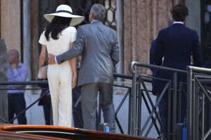 Making it official - George Clooney and Amal Alamuddin - registry office Venice.jpg