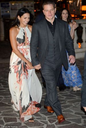 Wedding guests - Matt and Luciana - Amal George rehearsal dinner in Venice September 2014.jpg