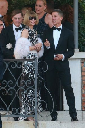 Wedding guests - US Vogue editor Anna Wintour in Venice September 2014.jpg