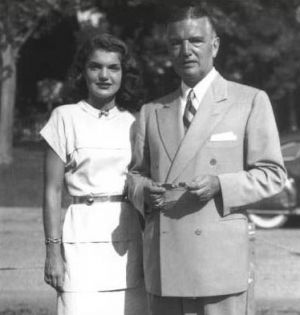 Jackie Kennedy images - Black Jack and daughter Jackie Bouvier.jpg