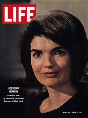 Jacqueline Bouvier Kennedy Onassis fashion - jbk-life-cover-1964.jpg