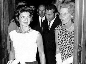 Jacqueline Kennedy and her friend Rachel aka Bunny Mellon.jpg