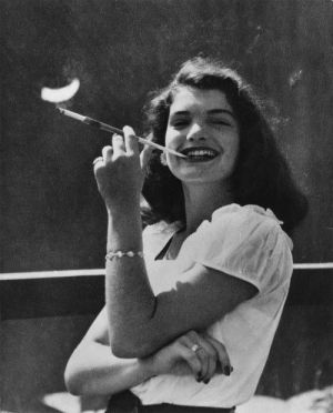 Pictures of Jackie - Style icon in the making - young jackie bouvier.jpg