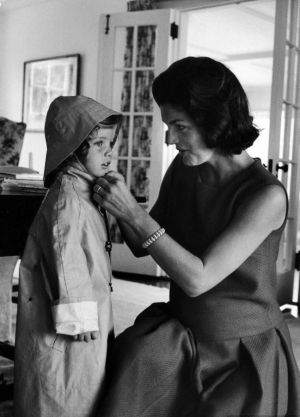 Style icons - Jacqueline Bouvier Kennedy Onassis - Mothers-Day-Jackie-raincoat.jpg