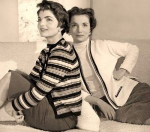 Style icons - Jacqueline Bouvier Kennedy Onassis - jackie and lee.jpg