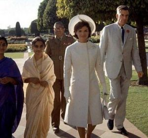 jackie bouvier kennedy in white in india.jpg