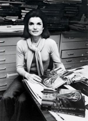 jackie bouvier kennedy onassis as a working girl.jpg
