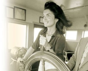 jackie bouvier kennedy onassis at the helm.jpg
