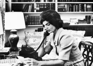 jackie bouvier kennedy onassis on the telephone.jpg
