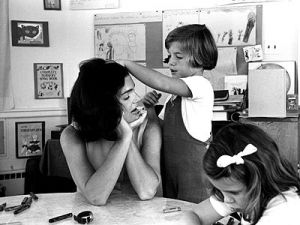 jackie bouvier kennedy onassis with her children.jpg