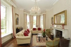 Formal living room - interior photos - George and Amal Alamuddin Clooney home in England.jpg