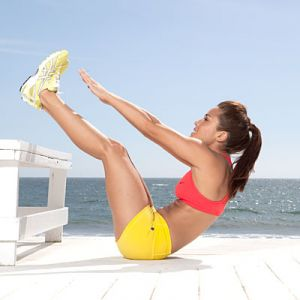 Limbering up on the beach-mylusciouslife Wednesday Weight blog series.jpg