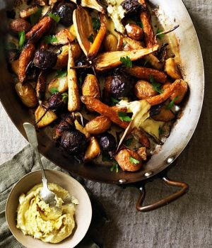 Motivation for a healthier life - Tuscan style roast vegetables.jpg