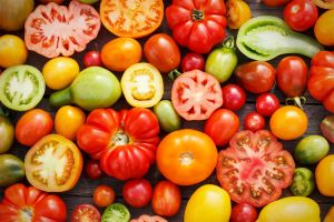 Wednesday Weight blog series -Healthy life - heirloom tomatoes.jpg
