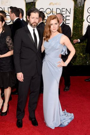 Golden Globes 2015 fashion - Darren Le Gallo and Amy Adams.jpg