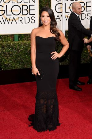 Golden Globes 2015 fashion - Gina Rodriguez in Badgley Mischka and Jimmy Choo.jpg