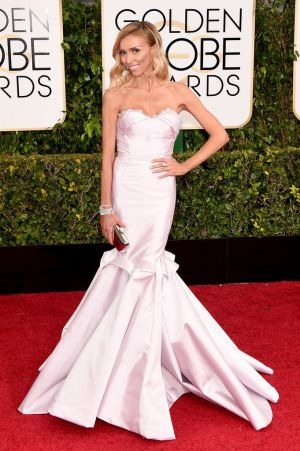 Golden Globes 2015 fashion - Giuliana Rancic in Maria Lucia Hohan.jpg