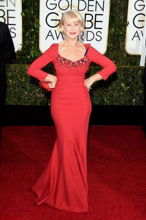 Golden Globes 2015 fashion - Helen Mirren in Dolce and Gabbana.jpg