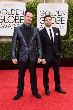 Golden Globes 2015 fashion - Kevin Dillon and Jerry Ferrara.jpg