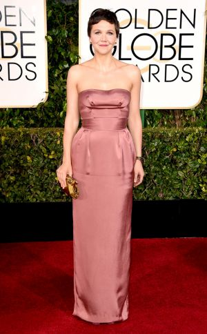 Golden Globes 2015 fashion - Maggie Gyllenhaal in Miu Miu.jpg