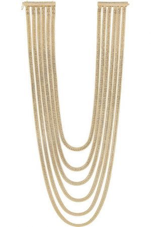 ROSANTICA Bianca gold-dipped necklace
