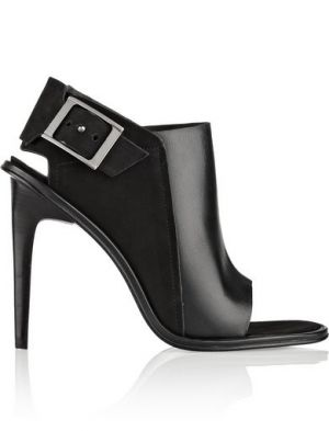 TIBI Milou leather and nubuck sandals
