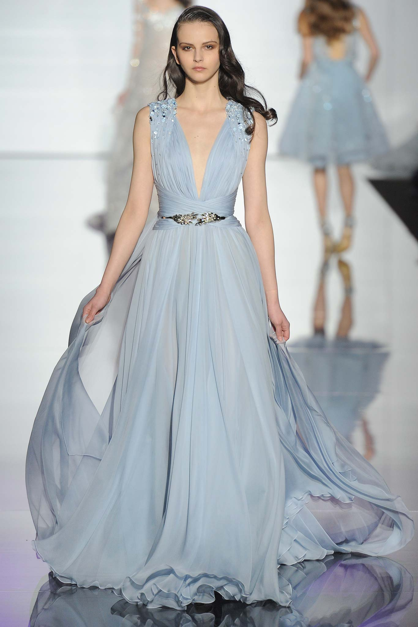 Runway zuhair murad spring 2015 couture collection for Hot couture fashion
