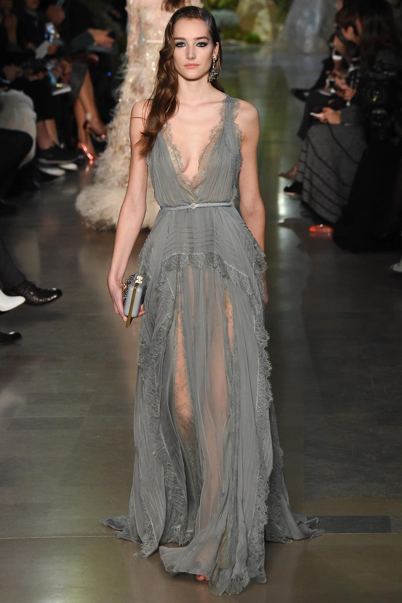 dress - Saab elie couture spring video