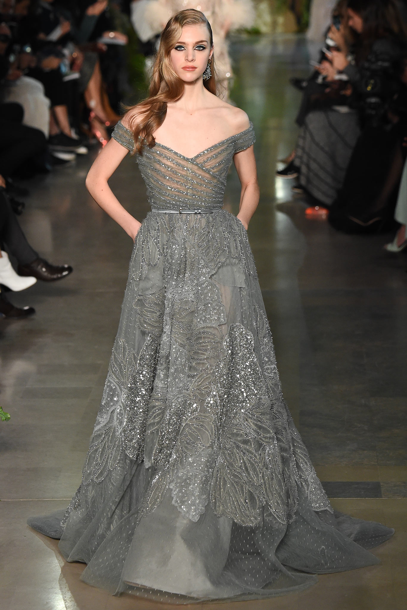 Runway elie saab spring 2015 couture collection for Hot couture fashion