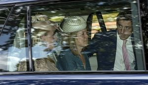 Godparent Prince William cousin Laura Fellowes - centre.jpg