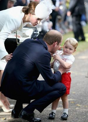 Princess Charlotte christening - Prince George getting tired4.jpg