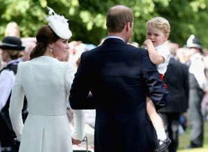 Princess Charlotte christening - Prince George getting tired6.jpg