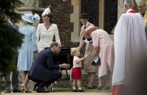 Princess Charlotte christening at St Mary Magdalene Church in Sandringham with the Queen.jpg