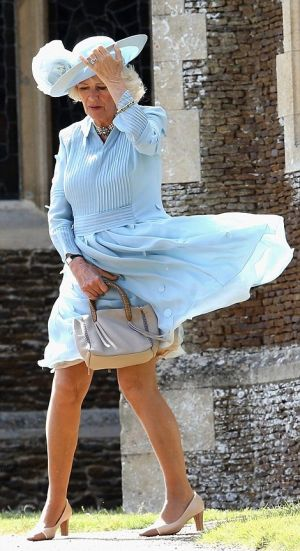 The Duchess of Cornwall wore pale blue to the Princess Charlotte christening.jpg