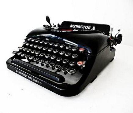 Remington Typewriter Model 12 free shipping