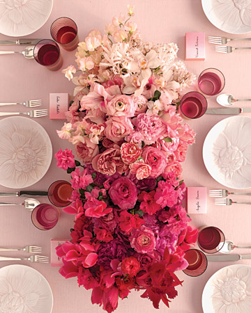 How to become your own florist create luscious flower arrangements c15 martha stewart red and pink flower box wedding centerpiecesg mightylinksfo Gallery