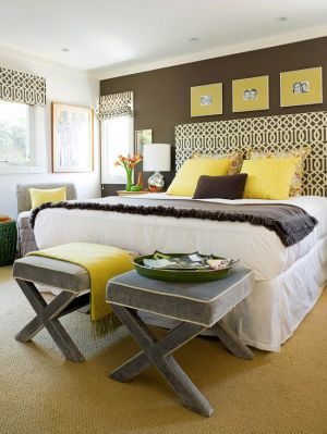 c57-Bedroom with yellow and chocolate styling.jpg