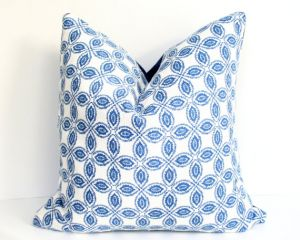 ariannaBelle etsy - Blue Pillow Cover - Tala Bluemarine.jpg