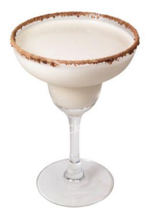 Luscious Brandy Alexander cocktail
