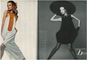 March 1967 US Vogue Veruschka by Avedon