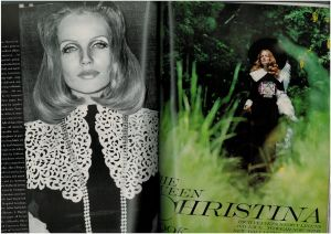 US Vogue August 1968 - Veruschka and Rubartelli -Queen Cristina1.jpg