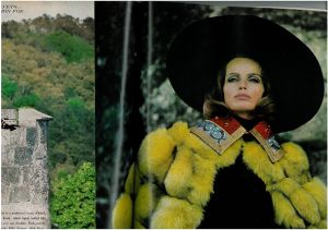 US Vogue August 1968 - Veruschka and Rubartelli -Queen Cristina4.jpg