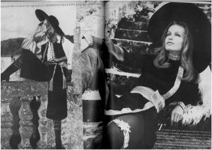 US Vogue August 1968 - Veruschka and Rubartelli -Queen Cristina8.jpg