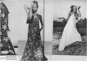US Vogue November 1966 Veruschka