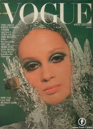 Veruschka on the cover of Vogue2.jpg