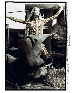 Veruschka by Peter Beard 1964