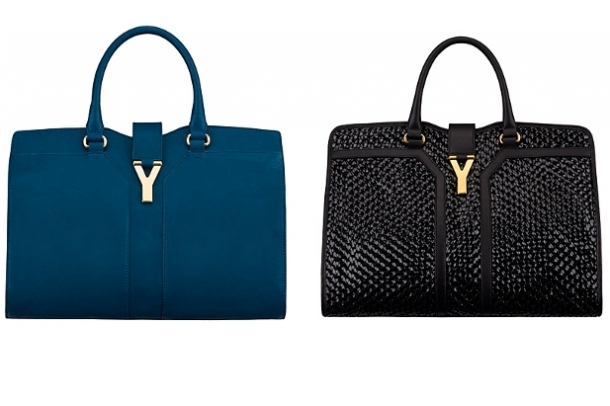 ysl cabas chyc small - Frockage: Yves Saint Laurent Spring 2012 Bags Collection